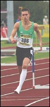 Tom Burton - 400 metre hurdles.
