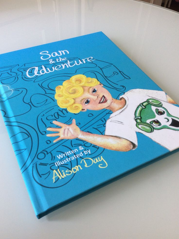 What's your adventure?  Sam & the Adventure by Alison Day.  A children's storybook and accompanying colouring book