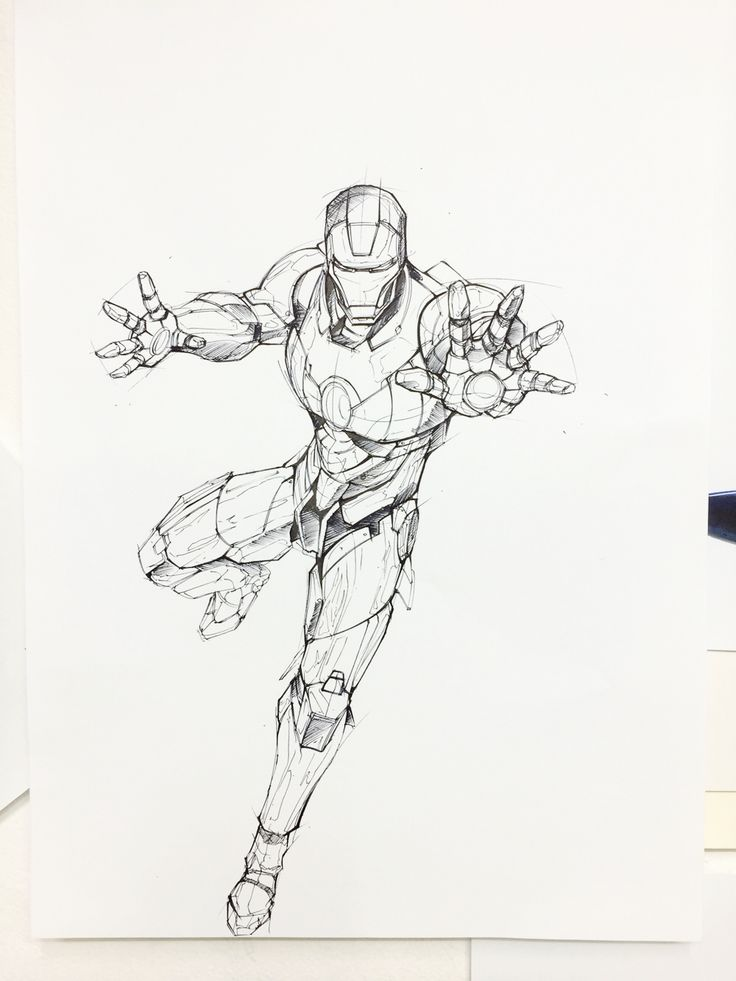 Ironman rough sketch 2 on Behance