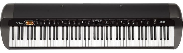 KORG SV188BK 88-Key Digital Piano with Vintage Sounds, Period Effects and Retro Styling   Housed in a sleek, curvaceous body, the SV-1BK offers an elegant on-stage appearance. Coupled Read  more http://themarketplacespot.com/korg-sv188bk-88-key-digital-piano-with-vintage-sounds-period-effects-and-retro-styling/