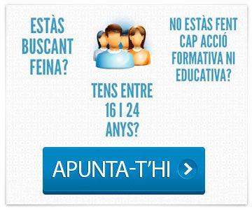 Garantia Juvenil ---> Apunta-t'hi!