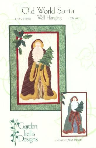 Free Santa Applique Patterns Old World Santa Patterns