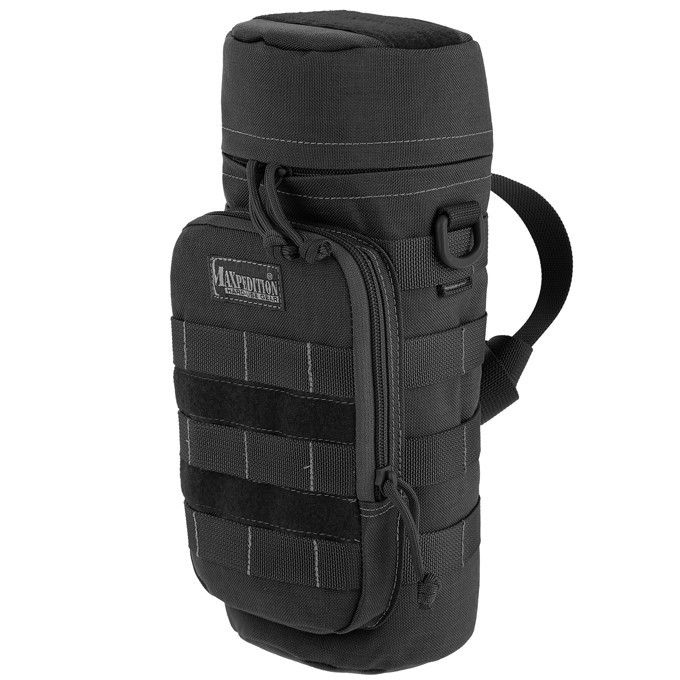 "Maxpedition - 12""x5"" Bottle Holder - Check out our collection of MOLLE Gear, MOLLE Pouches, Velcro Pouches, Tactical Pouches, MOLLE Tactical Gear, Modular Pouches, Modular MOLLE Pouches, Modular MOLLE Velcro Pouches, First Aid Pouches, Medical MOLLE Pouches, Molle Gadget Pouch, EMT Pouch, First Aid MOLLE pouches, M.O.L.L.E Compatible Gear, Airsoft MOLLE Pouches, Hydration Pouches, Munitions Pouches, Rip-away Pouches, Modular Gear, Utility and Dedicated Pouches."