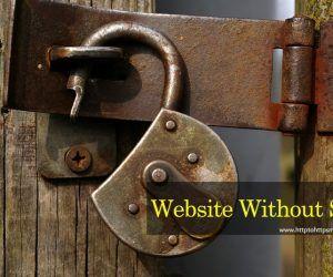 Website without SSL#httptohttpsmigration #httptohttps #http #https #ssl