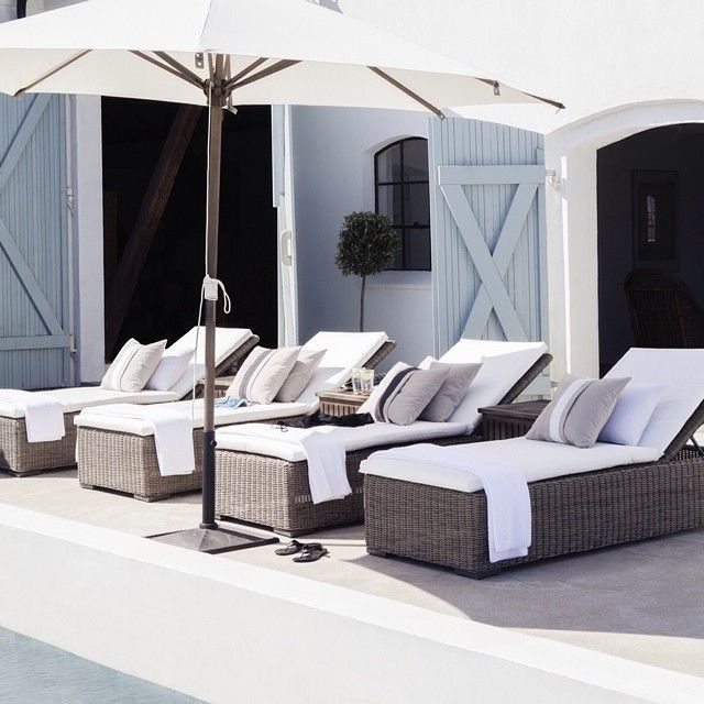 Classy Outdoor Living by Artwood #artwood #interior #decoration #furniture #lifestyle #living #terrace #summer #sunbed
