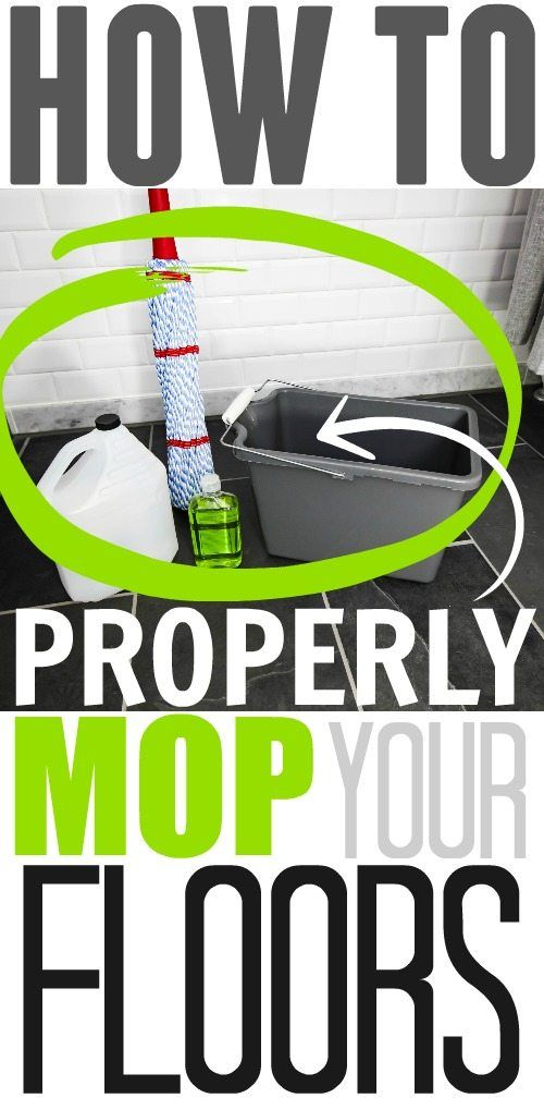 This Method Really Pulls Up The Dirt! How To Properly Mop Your Floors!  Cleaning MoldBathroom ...