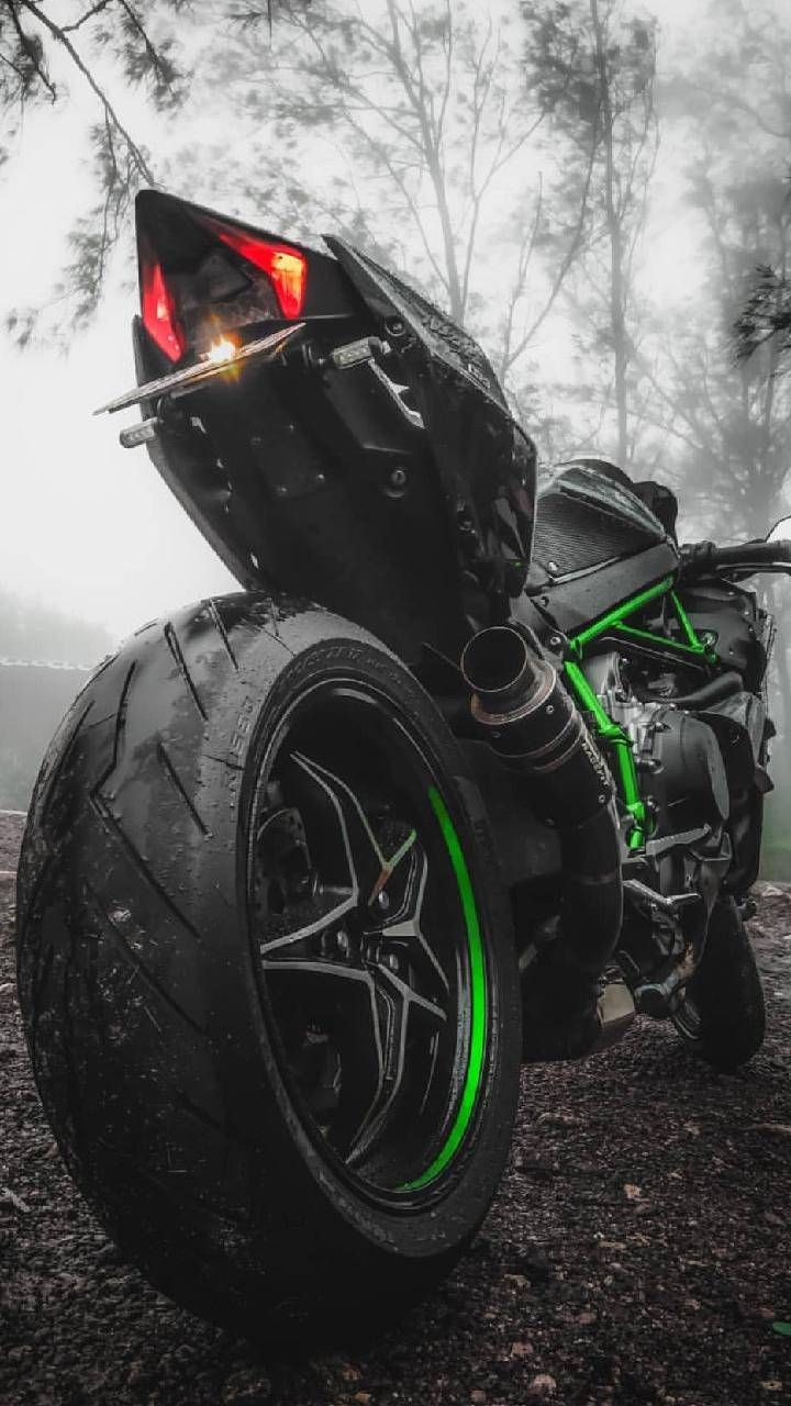 Kawasaki Ninja H2 Iphone Wallpaper Motorsiklet Motorcycle