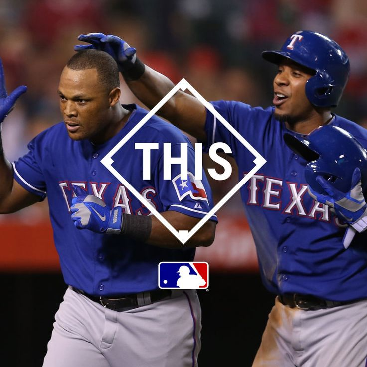 Opening Day got me like #THIS. @rangersbaseball