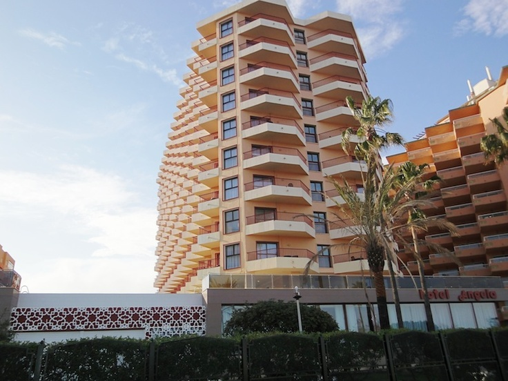 Hotel Angela. Fuengirola, Costa del Sol.