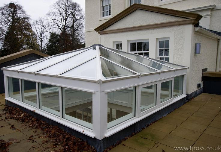 External view of the Cupola to the house. Skylight, glazed roof
