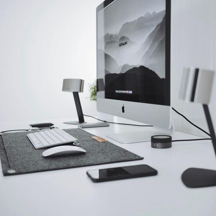 """183 Likes, 1 Comments - Oliur Rahman (@ultralinx) on Instagram: """"Always feels good having a tidy workspace. #minimalsetups @minimalsetups"""""""