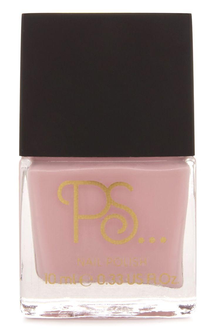 Marshmallow Pink Nail Polish