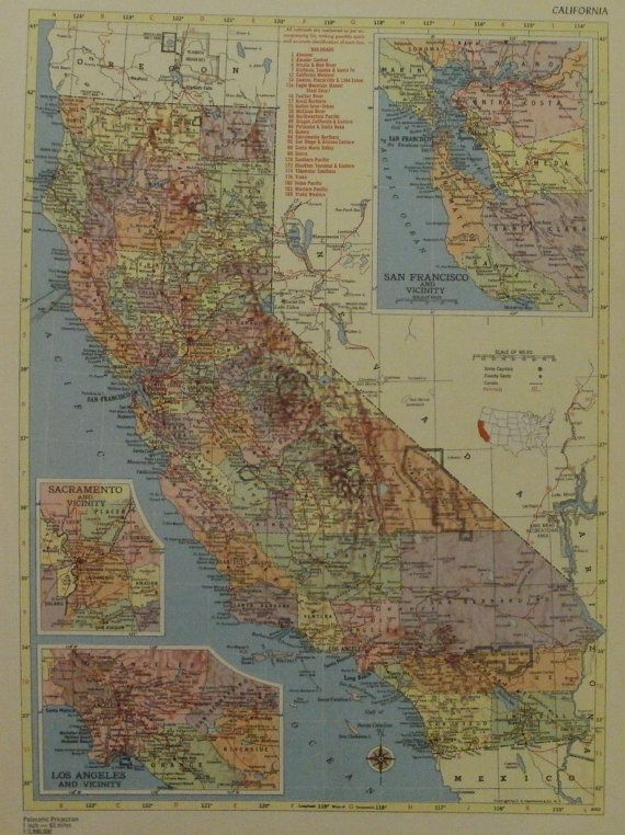 34 best California images on Pinterest Antique maps Nevada and