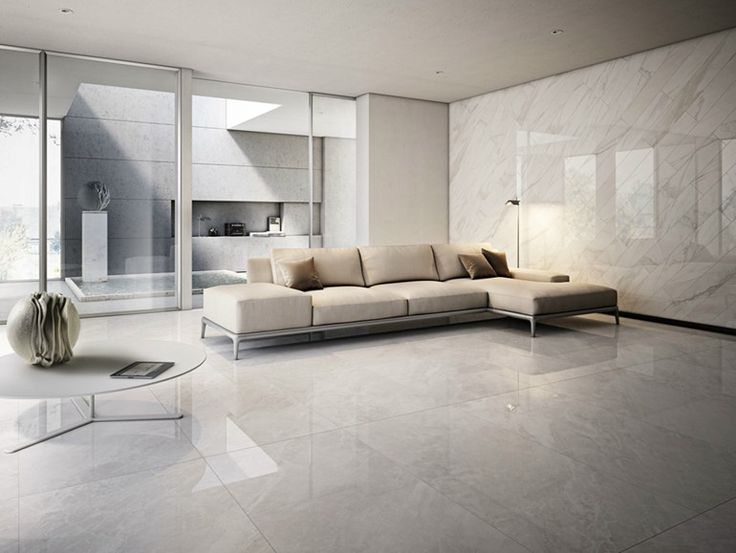 Glazed stoneware wall/floor tiles with marble effect I MARMI by Cooperativa Ceramica d'Imola