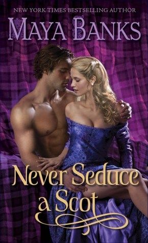 Never Seduce a Scot (The Montgomerys and Armstrongs, #1) 1st in series, but 4th in Highland romance genre.  Love this series.  Love this author.  Doesn't matter if she's writing classic-style Scottish romances, black ops testosterone-driven romantic suspense, cheesy Harlequins, or racy erotica.  She is just toooo good!