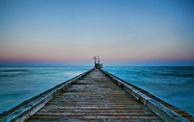 Il cammino verso il mare