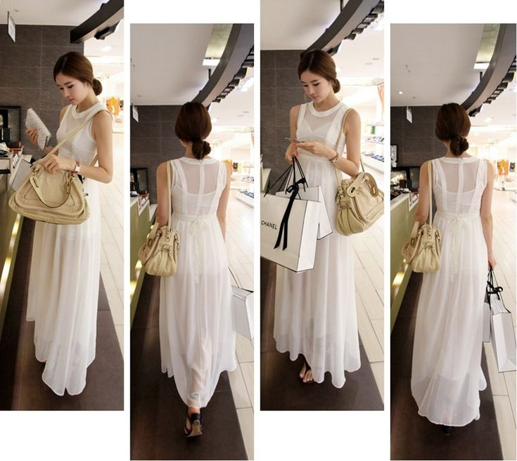 Женщин 2 шт. устанавливает шифон Boho Vestidos де феста летом Большой размер одежды Bodycon платье широкий длиной макси майка пляж сарафан купить на AliExpress