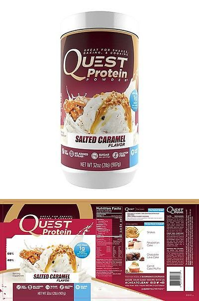 Protein Shakes and Bodybuilding: Quest Protein Powder - Salted Caramel Flavor 2 Lbs. -> BUY IT NOW ONLY: $37.99 on eBay!