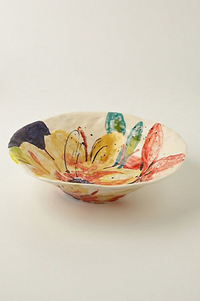 Aurelia Serving Bowl #anthropologie