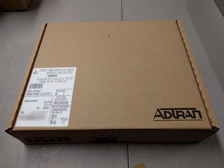 ADTRAN 1187120L1 TA5000 COMBO V2 24-PORT BVL3AT0DTA (We also buy ADTRAN!)