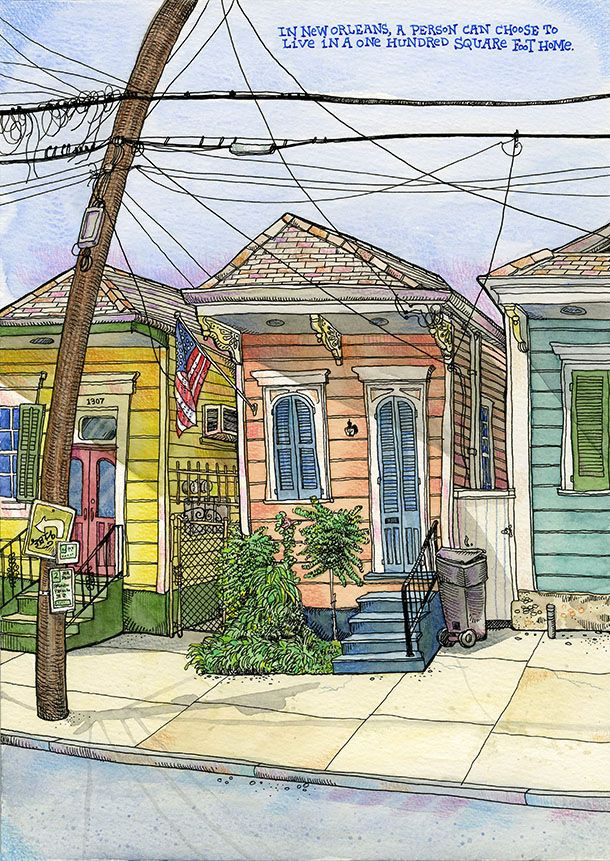 Tommy Kane's Art Blog: End Of New Orleans