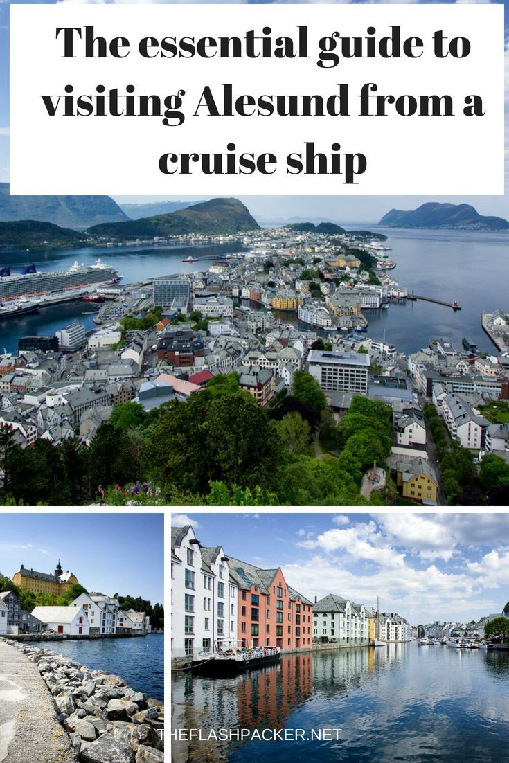 Norwegian fjords cruise port photo tour and guide alesund.