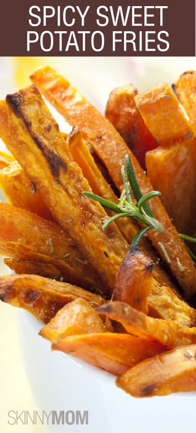 Spicy Sweet Potato Fries are a super tasty side to any entree! Quick and easy recipe - SHARE!!