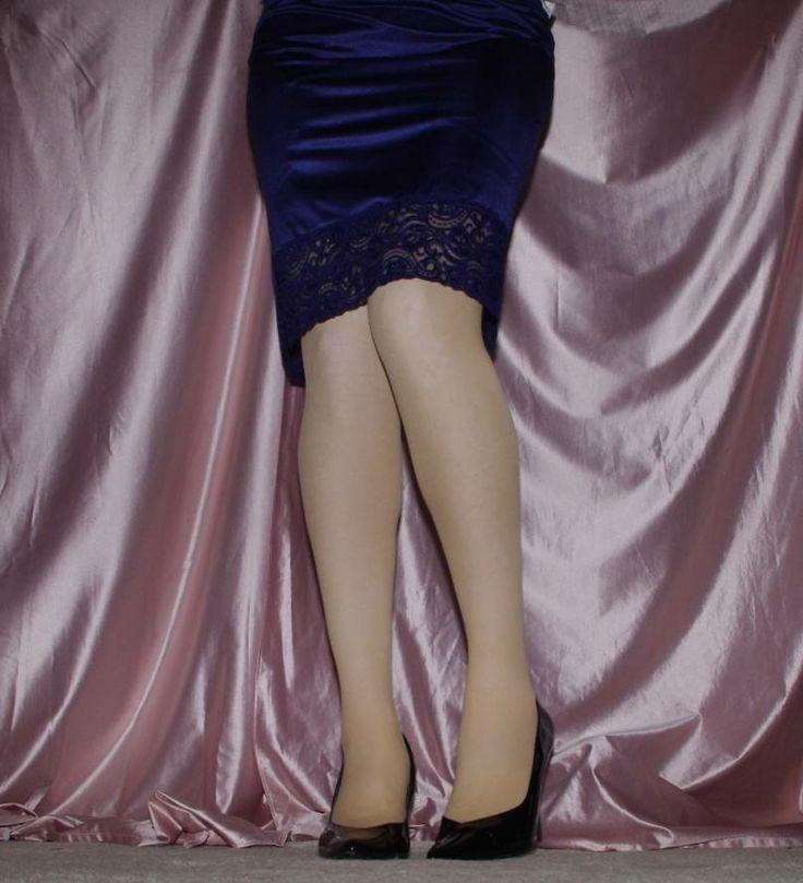 Slip Pantyhose Sheer 15