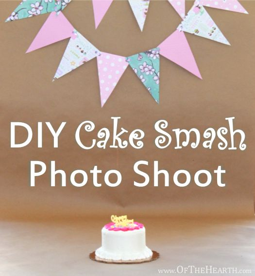 DIY cake smash photos are an easy, affordable way to preserve memories of your child's first birthday. Get wonderful photos in three easy steps.
