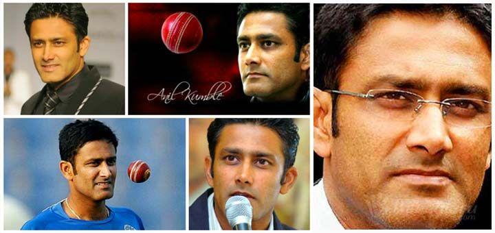 Anil Kumble-  Cricketer