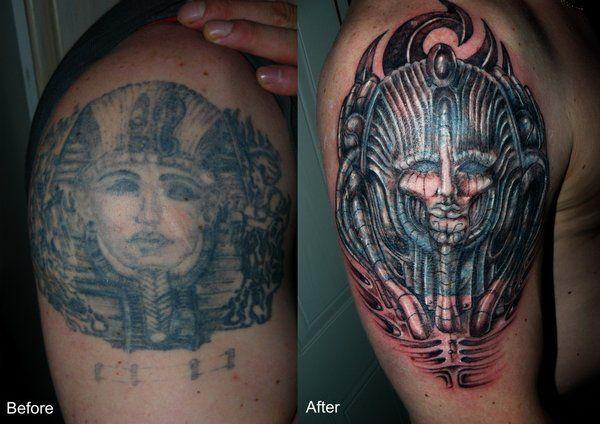 Egyptian Pharaoh Tattoos