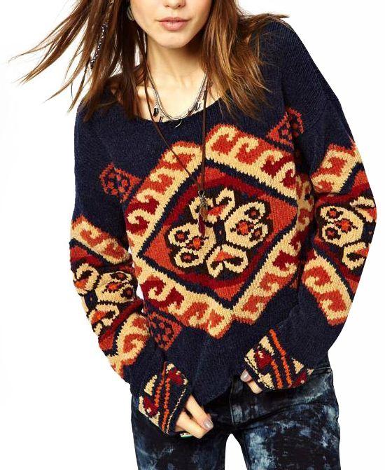 Vintage Pattern Knitwear