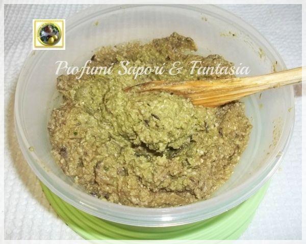 pesto di melanzane basilico pinoli e parmigiano | ricetta facile