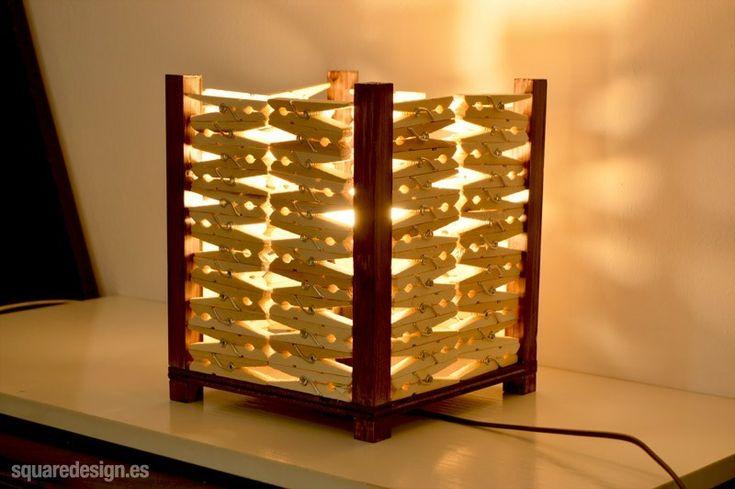 17 best ideas about lampe pince on pinterest applique - Lamparas con palets ...