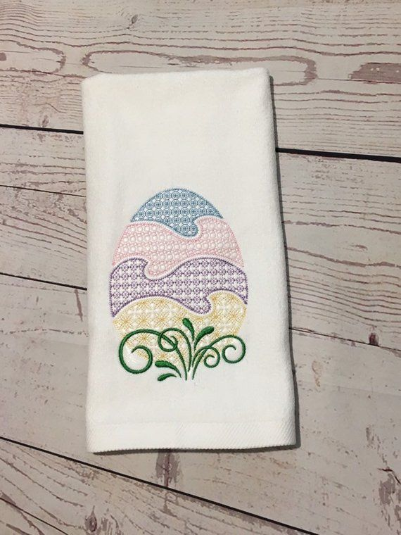 Easter Kitchen Towel Home Decor Easter Decorations Bathroom Hand