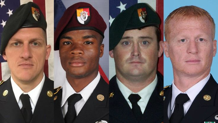 The lives of the 4 US soldiers killed in Niger  ||  (CNN)Sgt. La David Johnson married his childhood sweetheart and was expecting his third child.Staff Sgt. Jeremiah Johnson earned more than a dozen military commendations.And Staff Sgt. Dustin Wrigh… https://amanews.info/the-lives-of-the-4-us-soldiers-killed-in-niger/?utm_campaign=crowdfire&utm_content=crowdfire&utm_medium=social&utm_source=pinterest