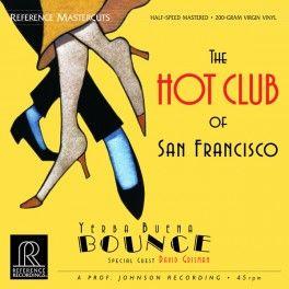 The+Hot+Club+of+San+Francisco+Yerba+Buena+Bounce+2LP+Vinil+200g+45rpm+Reference+Mastercuts+QRP+USA+-+Vinyl+Gourmet