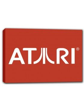 """#Atari #Canvas Print Wall Art  Price: $39  16.5"""" x 11.7"""" x 1"""" (A3 size)/ 420mm x 297mm x 25mm canvas printed wall art.    Our prints use high quality canvas that is designed specifically for canvas printing. We use the best inks for vibrant print quality and  optimum fade resistance. Canvas is stretched on a 1""""/ 25mm thick wooden frame for hanging."""