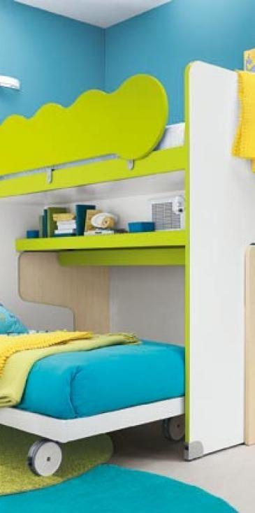 C134 - Мебель для детских - Детские комнаты - Colombini Casa