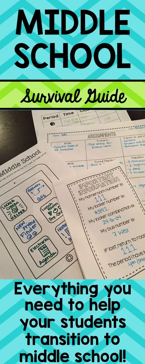 All middle school teachers know that our students show up the first day nervous, excited and full of questions. This packet includes 20 different handouts and activities I have used in my classroom the first few days of school to help my students transition to middle school.