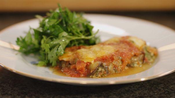 Eén - Dagelijkse kost - Cannelloni van aubergine