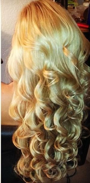 www.facebook.com/GreatLengthsPoland & www.greatlengths.pl curly hair, wave waves hairstyle long hair curled