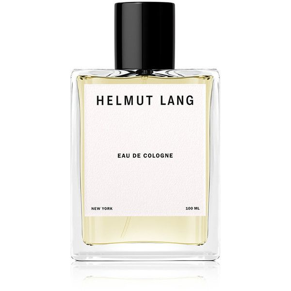 Helmut Lang Eau De Cologne - 100 ml found on Polyvore featuring beauty products, fragrance, colorless, helmut lang, eau de perfume, heart perfume, wood perfume and helmut lang perfume