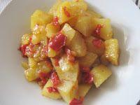 Vita Frugale: Padellata di patate e peperoni