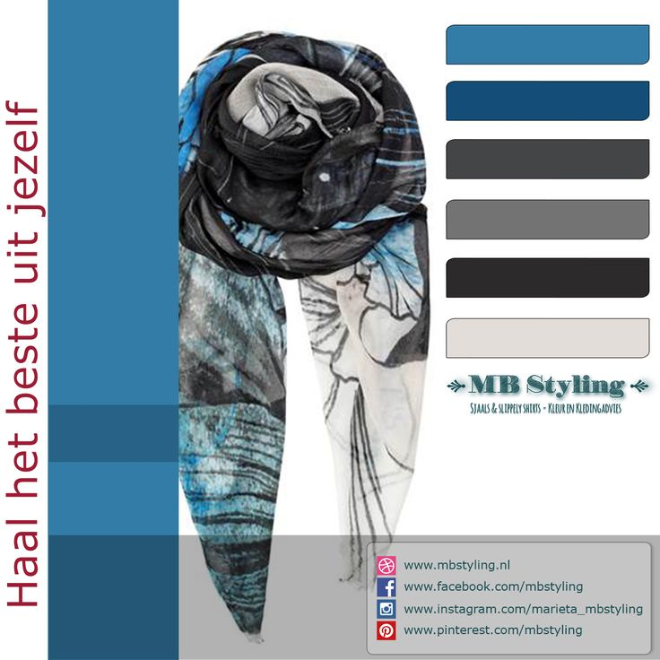 Dit is een fijne sjaal om nu binnenshuis te dragen en in het voorjaar ook buitenshuis. Het is een soepelvallende 100% modal sjaal van het deense merk Becksondergaard. Bestel op: