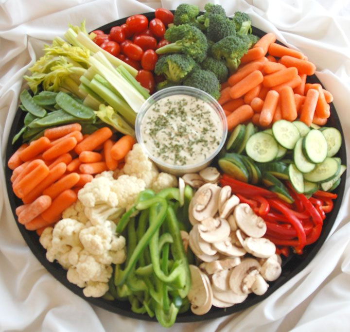 Great Good Idea Of Veggie Tray.