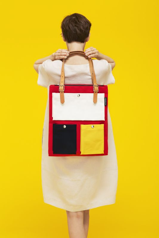 Marimekko Spring / Summer 2013: Toimi Bag (love the bold color blocks)