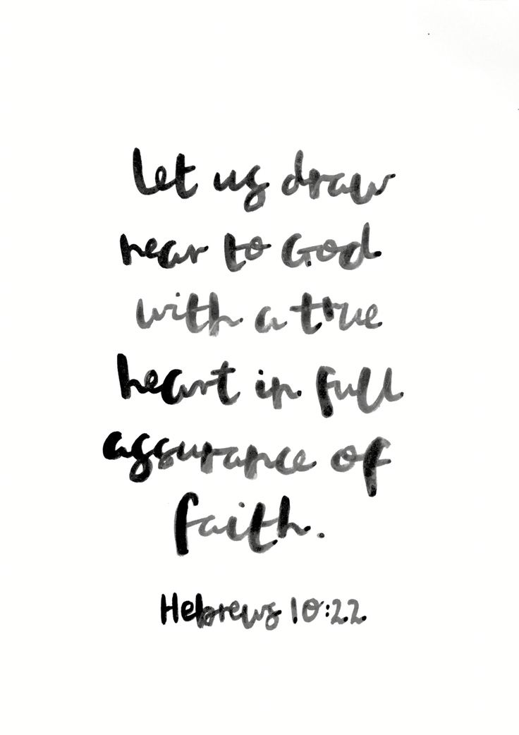"Hebrews 10:22 KJV ""Let us draw near with a true heart in full assurance of faith, having our hearts sprinkled from an evil conscience, and our bodies washed with pure water."" Let's both draw nearer to God and let Him clean us and make our hearts and minds pure."