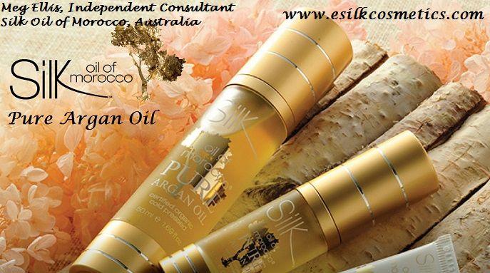 Pure Argan Oil - Certified #organic. Treat your #hair & #skin.  http://www.esilkcosmetics.com   #Australia #naturalskincare