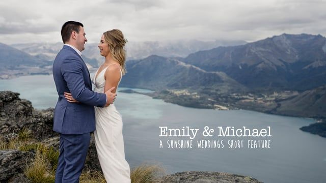 Emily and Michael's stunning elopement wedding on Cecil Peak, Queenstown, New Zealand. Film dn photography by Sunshine Weddings - Film + Photo www.sunshineweddings.co.nz